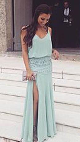 Vestidos longos lisos